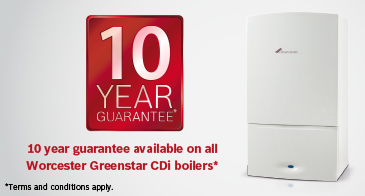 Brand new boilers and boiler replacements with 10 year warranty